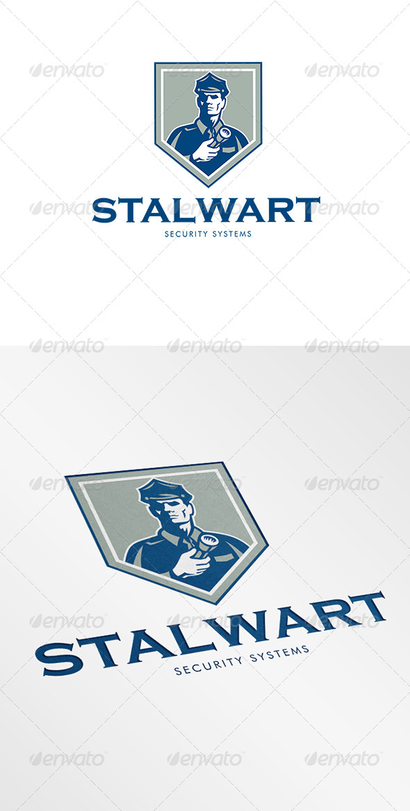 GraphicRiver Stalwart Security Systems Logo 6944228