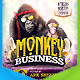 Monkey Business Flyer - GraphicRiver Item for Sale