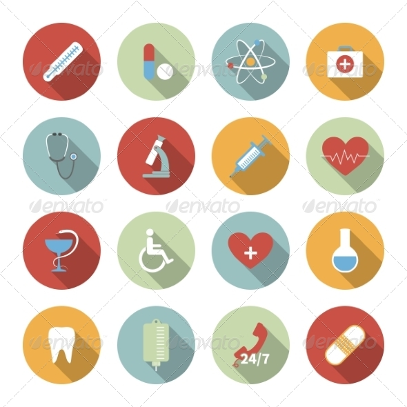 GraphicRiver Medical Icons 6945504