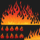 Flames - GraphicRiver Item for Sale