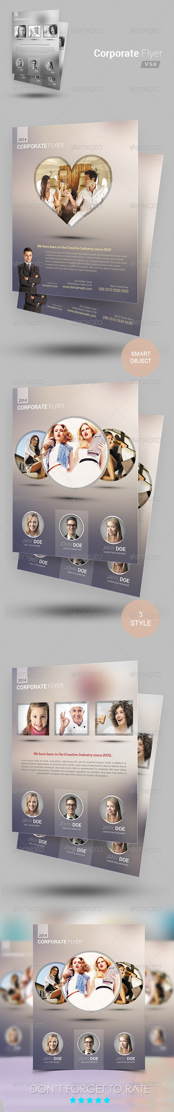 GraphicRiver Creative Modern Agency Flyer 6948583