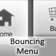 bouncing horizontal menu - ActiveDen Item for Sale