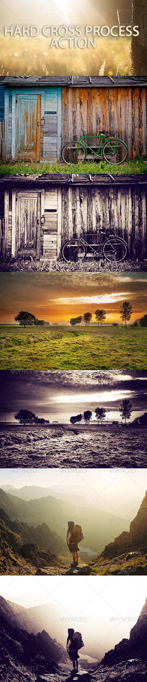 GraphicRiver Hard Cross Process Action 6950525