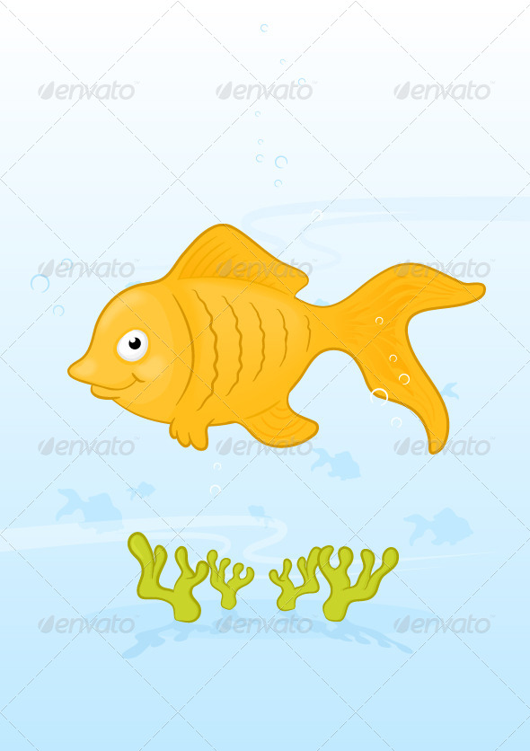 GraphicRiver Goldfish 6950671