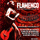 Flamenco Flyer Template - GraphicRiver Item for Sale