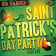 Saint Patrick's Party Flyer Template - GraphicRiver Item for Sale