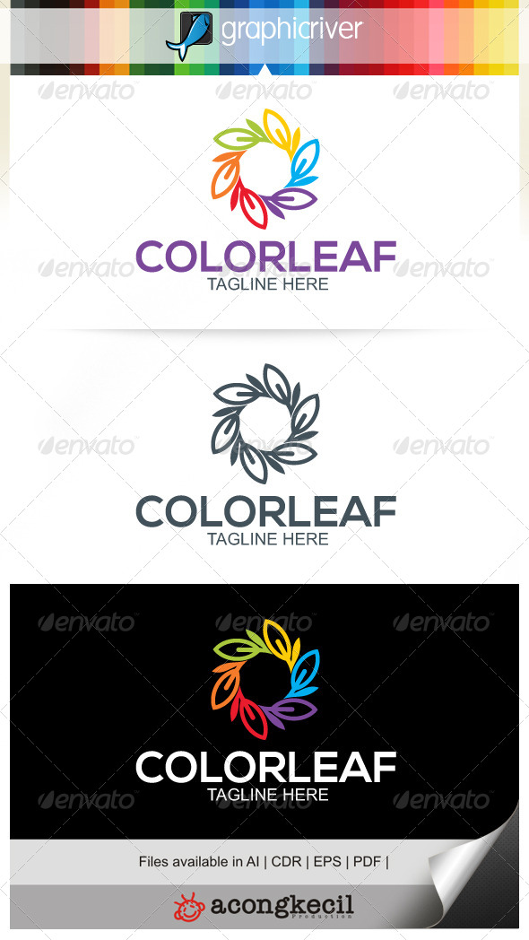 GraphicRiver Color Leaf V.5 6953078
