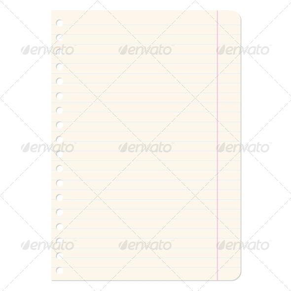 GraphicRiver Blank Sheet of Paper 6953239