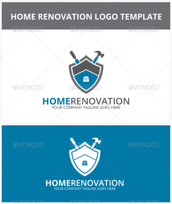 GraphicRiver Home Renovation Logo 6953762