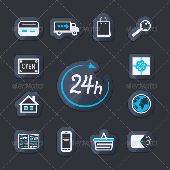 GraphicRiver Internet Website Store Open 24 Hours 6957828