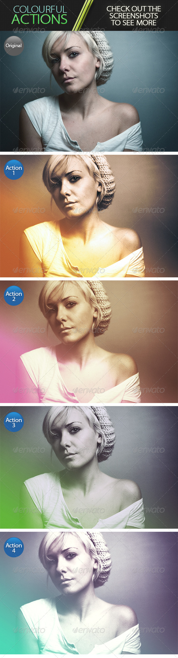GraphicRiver Colourful Actions 6958502