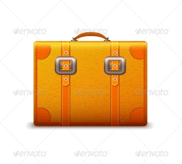 GraphicRiver Travel Suitcase Emblem 6958669