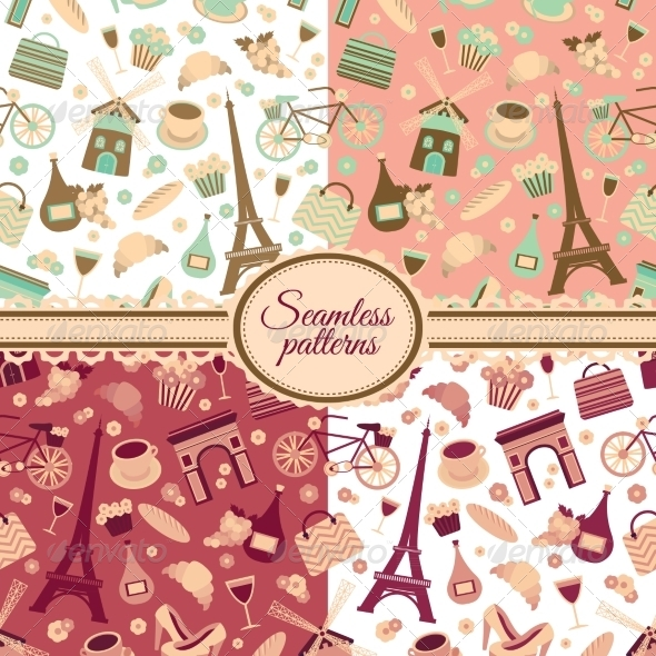 GraphicRiver Collection of Seamless Patterns 6958769