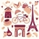 Paris Symbols Collection - GraphicRiver Item for Sale