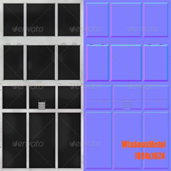 3DOcean WindowsMetal 6959339