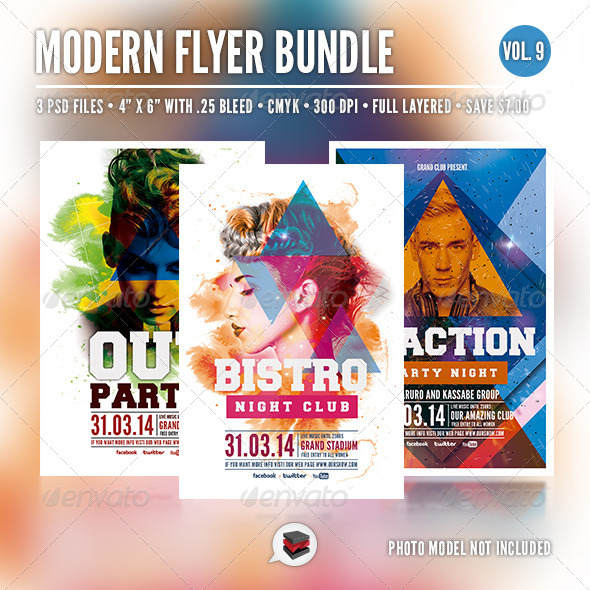 GraphicRiver Modern Flyer Bundle Vol 9 6959388