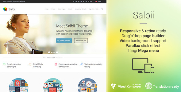 ThemeForest Salbii Responsive Multi-Purpose WordPress Theme 6265876