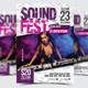 Sound Fest Party Flyer / Poster - 14 - GraphicRiver Item for Sale