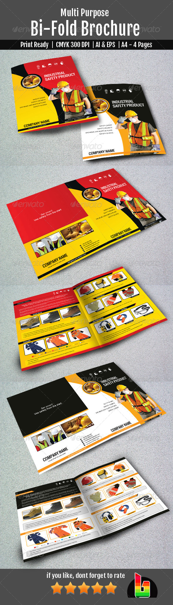 GraphicRiver Multipurpose Bifold Brochure 6950881