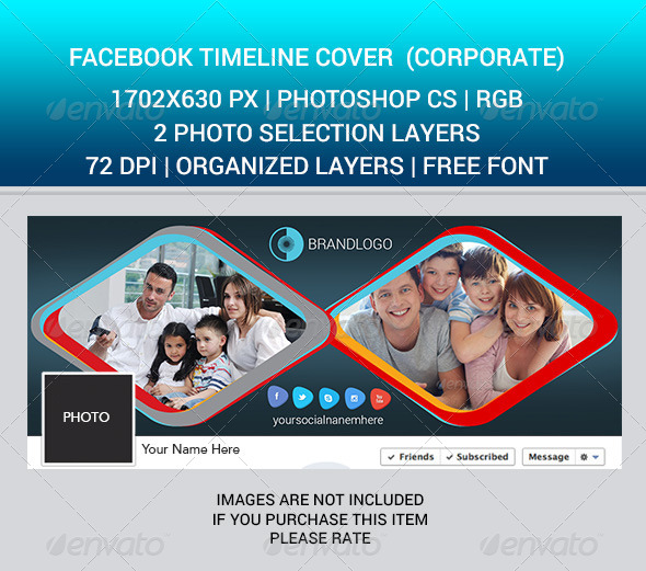 GraphicRiver Facebook Timeline Cover corporate 6963645