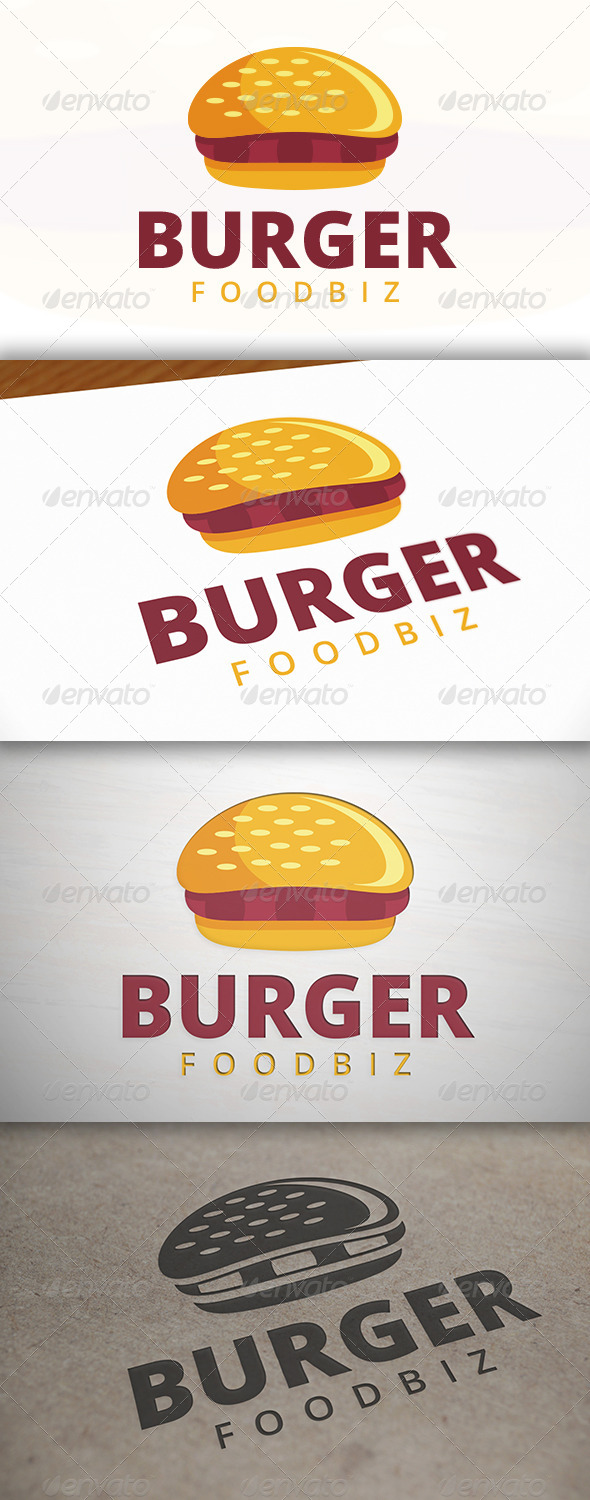GraphicRiver Burger Logo 6964178