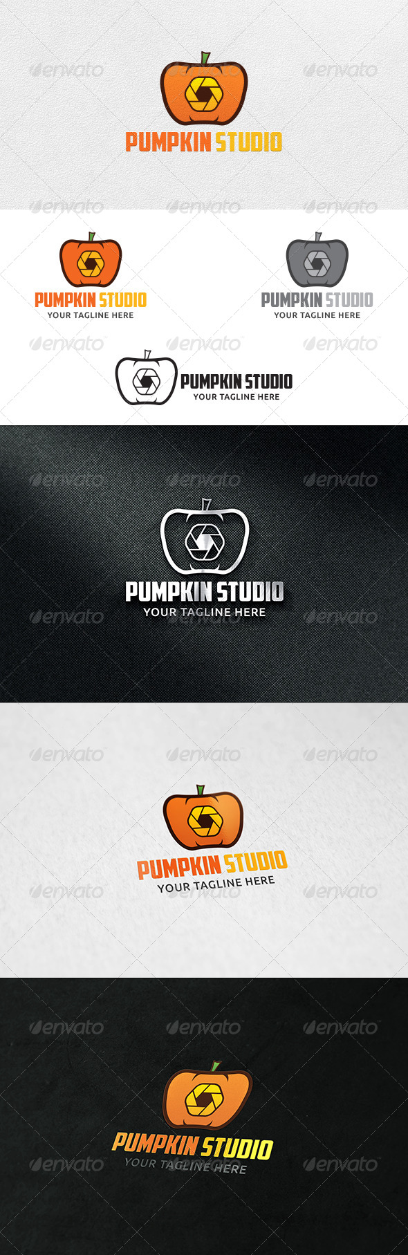 GraphicRiver Pumpkin Studio Logo Template 6964426