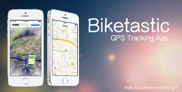 CodeCanyon Biketastic GPS Tracking App 6964849