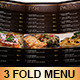 Deluxe Food Menu Template Tri-Fold - GraphicRiver Item for Sale