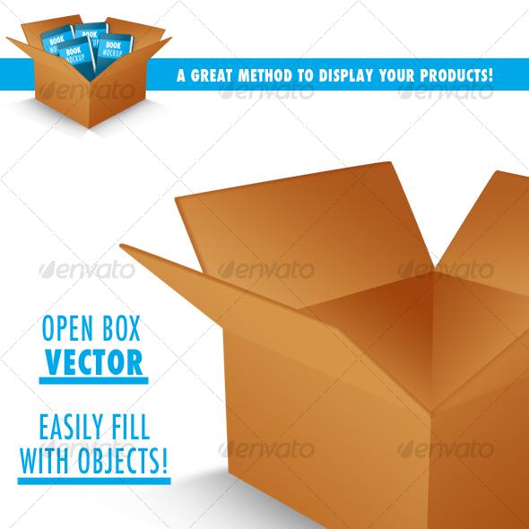 GraphicRiver Open Box PSD vector 29741