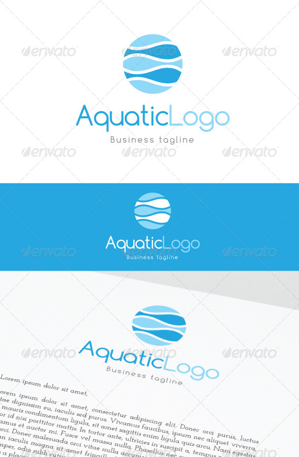 GraphicRiver AquaticLogo 6965173