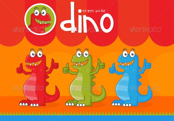GraphicRiver Dino 6965179