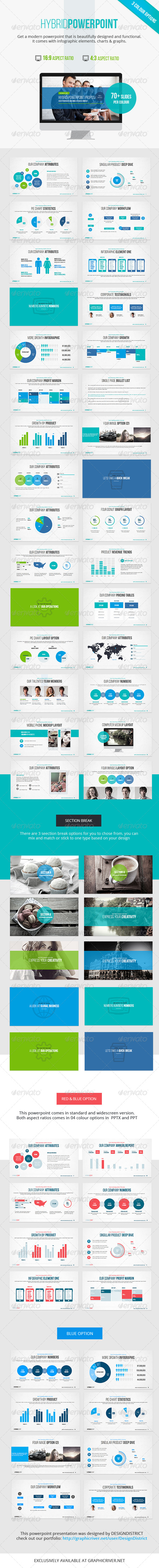 GraphicRiver Hybrid Powerpoint Presentation 6965029