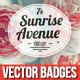 Premium Quality - Badges Vector - GraphicRiver Item for Sale