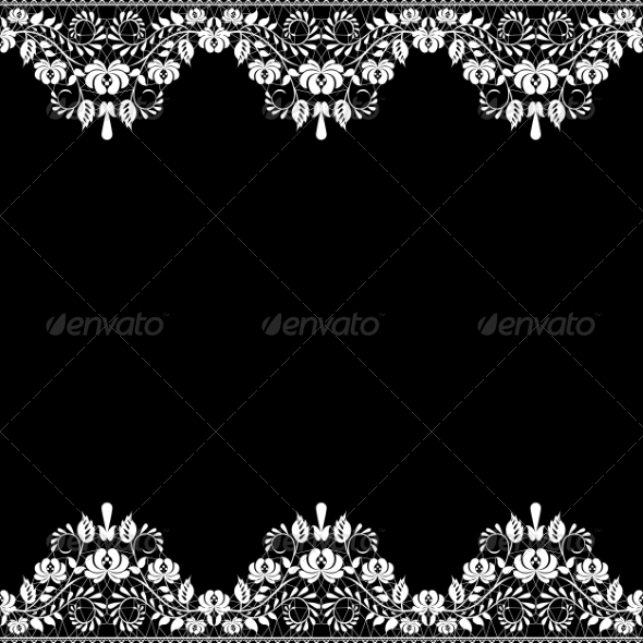 GraphicRiver Lace Fabric Background 6968071