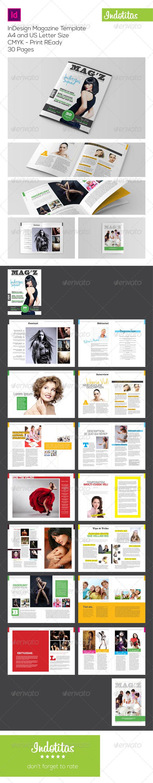 GraphicRiver InDesign Magazine Template 6968092