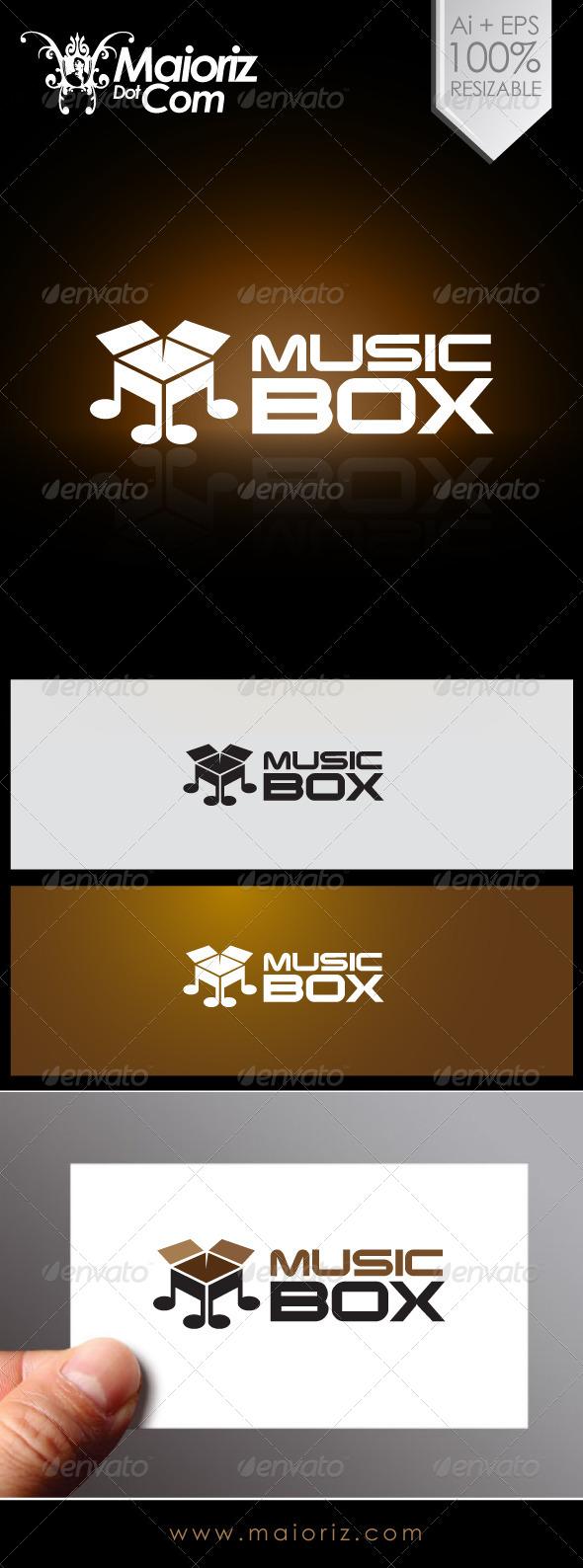 GraphicRiver Music Box Logo 6968303
