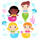 Mermaids - GraphicRiver Item for Sale