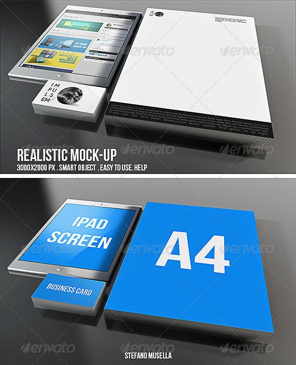 GraphicRiver Realistic Branding Mock-up 6971097