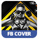 Electro House 2 | Facebook Cover - GraphicRiver Item for Sale
