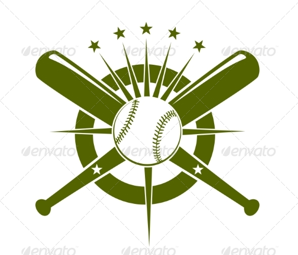 GraphicRiver Baseball Championship Icon or Emblem 6972602
