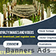 Banners Photo Stock  - GraphicRiver Item for Sale