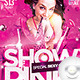 Flyer Show Special Sexy Girl Pink - GraphicRiver Item for Sale