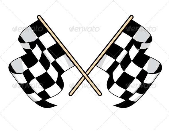 GraphicRiver Checkered Flags 6973370