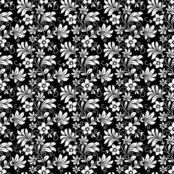 GraphicRiver Floral Pattern 6973378