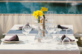 Table Setting in an Outdoor Restaurant - PhotoDune Item for Sale