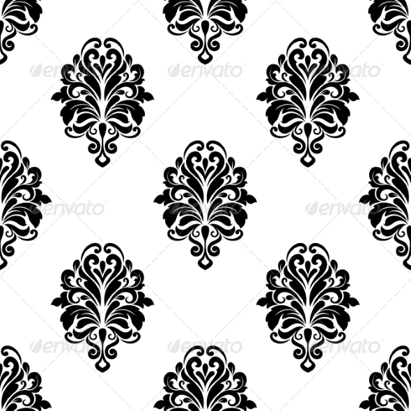 GraphicRiver Damask Pattern Background 6973843