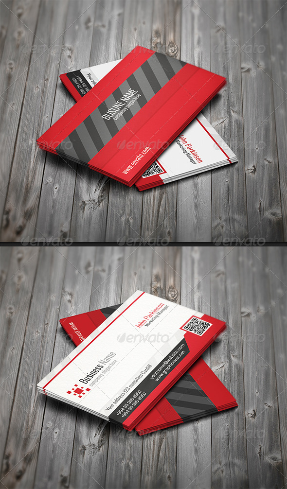 GraphicRiver Corporate Business Card N-002 6974088