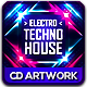 Electro Techno House CD Album Artwork - GraphicRiver Item for Sale