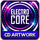 Electro Core CD Album Artwo-Graphicriver中文最全的素材分享平台