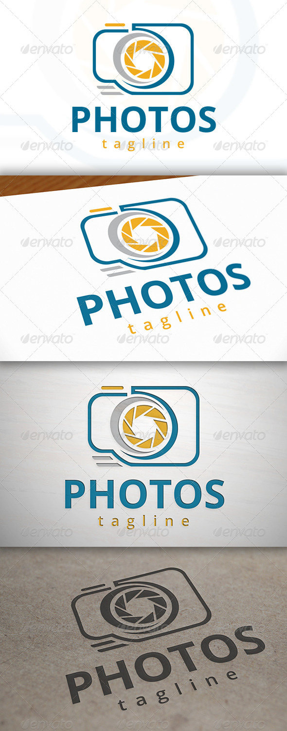 GraphicRiver Photographer Logo 6976630